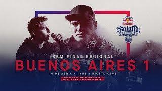 Download Semifinal Regional Buenos Aires 1, Argentina 2018 - Red Bull Batalla de los Gallos Video