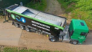 Download DAF LKW Truck | Huesker Flexcover Combi + | Landwirtschaft | AgrartechnikHD Video