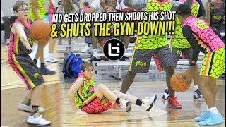 Download Basketball Saves a Life: Kid Gets DROPPED, Gets Up, Shoots His Shot & SHUTS THE GYM DOWN!!! Video