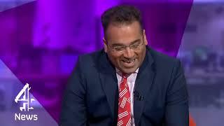 Download Who's interviewing who?! Richard Ayoade speaks to Krishnan Guru-Murthy Video