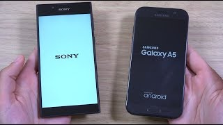 Download Sony Xperia L1 vs Samsung Galaxy A5 2017 - Speed Test! Video