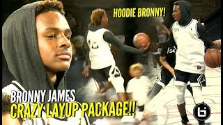Download HOODIE BRONNY ACTIVATED!! Bronny James & Mikey Williams DUNKING & JELLY at #JordanFOF Video