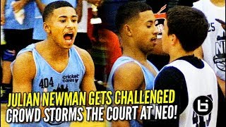 Download Crowd STORMS the Court after Julian Newman Gets CHALLENGED at NEO Elite! Video