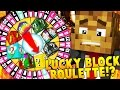 Download LUCKY BLOCK ROULETTE MOD Challenge | Minecraft - Lucky Block Mod Video