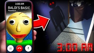 Download I SUMMONED BALDI IN REAL LIFE AT 3:00AM! **TERRIFYING** Video