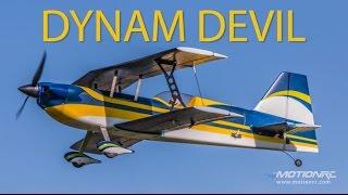 Download Dynam Devil 39″ Wingspan 3D Aerobatic Bi-plane Flight Review Video