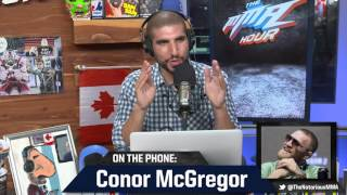 Download Conor McGregor: 'I'm Going Into a War Zone' at UFC 202 Video