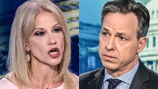 Download Kellyanne Conway Becomes A Trainwreck During Interview With Jake Tapper Video