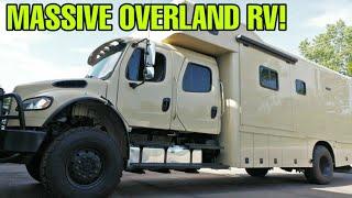 Download MASSIVE RV: 4x4 Off-Road Motorhome! Overlander's Dream! The Showhauler! Video