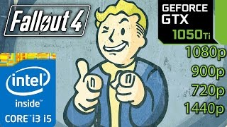 Download Fallout 4: GTX 1050 ti - 1080p - 1440p - 900p - 720p - i3 and i5 (Simulated) Video