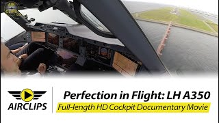 Download Airbus A350 Lufthansa ULTIMATE COCKPIT MOVIE + Business Class Tokyo [AirClips full flight series] Video