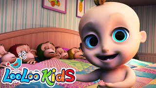 Download Ten in a Bed - Fun Songs for Children | LooLoo Kids Video