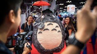Download Adam Savage Incognito as Totoro at New York Comic Con! Video