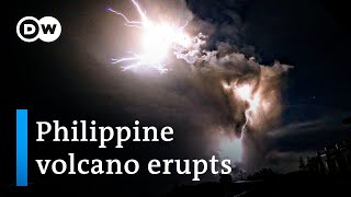 Download Philippine volcano eruption: How dangerous is it?   DW News Video
