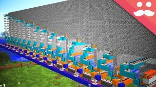 Download Minecraft.. But With Pistons that CAN PUSH 1000 BLOCKS! Video