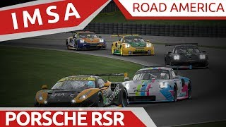Download IMSA Road America! Porsche RSR Video