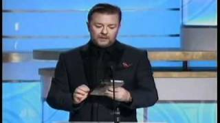 Download Ricky Gervais hosting the 2010 Golden Globes All of his good bits chained Video