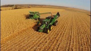 Download 2014 North Dakota Corn Harvest Aerial Video (long version) Video