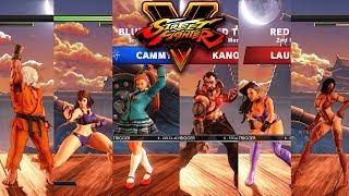 Download Street Fighter V AE Ken/Chun Li/Cammy vs Kano/Laura/Juri PC Mod Video