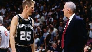 Download Spurs Anniversary: Steve Kerr Sparks A Run For The Spurs Video
