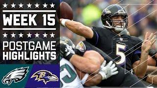 Download Eagles vs. Ravens | NFL Week 15 Game Highlights Video