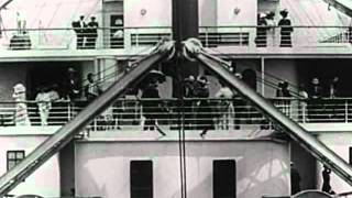 Download Titanic departure (real video 1912) Video