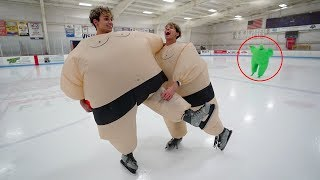 Download DO NOT ICE SKATE IN SUMO SUITS AT 3AM! Video