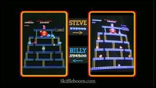 Download Billy Mitchell vs. Steve Wiebe: DONKEY KONG [Skiffleboom] Video