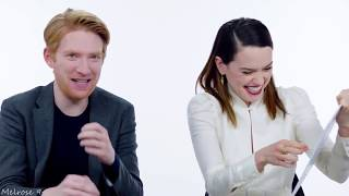 Download Funny moments ll Daisy Ridley & Domhnall Gleeson Video