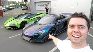 Download MY FRIEND BOUGHT A MCLAREN 675LT SPIDER!! Video