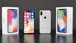 Download Apple iPhone X: Unboxing & Review (All Colors!) Video