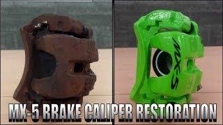 Download MAZDA MX-5 Brake Caliper Restoration ( Miata , Eunos ) Video