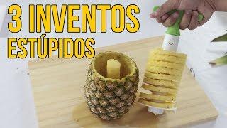 Download 3 inventos estúpidos... ¡QUE FUNCIONAN! - Visto en Internet Video