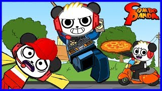 Download Best Jobs Ever! Escape McDonalds Pizza Place and Police man Let's Play Roblox with Combo Panda Video