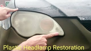 Download Plastic Headlamp Restoration Headlights Cover Blur Proton Gen 2 Persona Similar Saga | Cars Video
