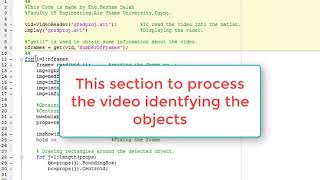 Download Image Processing | Object Tracking in a video using MATLAB Video