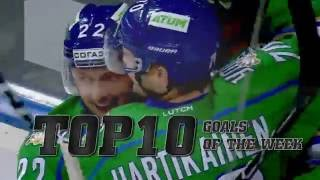 Download KHL Top 10 Goals for Week 4 Video