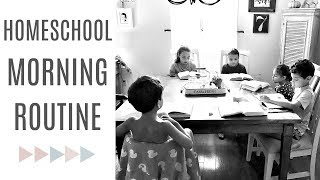 Download HOMESCHOOL ROUTINE | Classical Conversations & mom of 5 morning routine | Homeschool day in the life Video