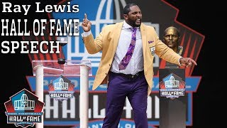 Download Ray Lewis FULL Hall of Fame Speech | 2018 Pro Football Hall of Fame | NFL Video