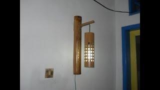 Download Cara Pembuatan Lampu Dinding Gantung Dari Bambu Video
