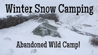 Download Winter Snow Camping - Abandoned Wild Camp Video