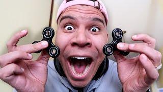 Download CRAZY FIDGET TOY TRICK SHOTS!! (IMPOSSIBLE) Video