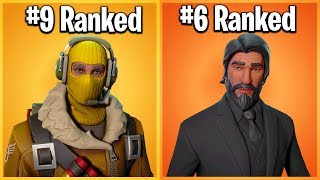 Download RANKING EVERY LEGENDARY SKIN IN FORTNITE FROM WORST TO BEST Video