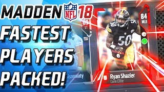 Download FASTEST PLAYER! 91 SPEED! TONS OF ELITES! Madden 18 Ultimate Team MUT 18 Video