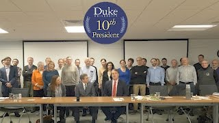 Download Duke Political Science Welcomes Vincent Price, President-Elect of Duke University Video