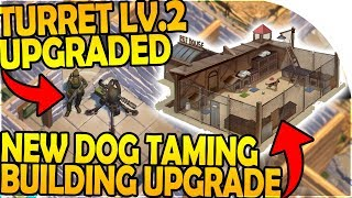 Download LEVEL 2 TURRET UPGRADED - DOG TAMING BUILDING UPGRADE - Last Day On Earth Survival 1.7.9 Update Video