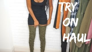 Download FALL TRY ON HAUL | FashionNova, Necessary Clothing! Video
