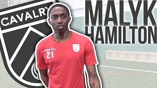 Download Malyk Hamilton | Cavalry FC's first youngster returns home to Calgary! Video