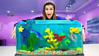 Download Making a JELLO AQUARIUM out of Candy! Video