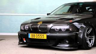 Download Tom's BMW E39 widebody beast Video